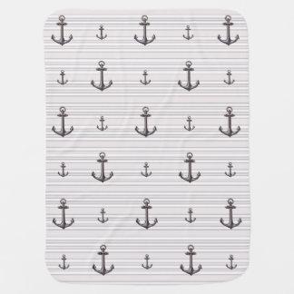 Nautical * Anchors Aweigh * Pramblanket