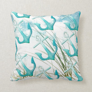 Decorative Pillows Beach Theme : Beach Theme Cushions - Square Beach Theme Throw Cushions Zazzle