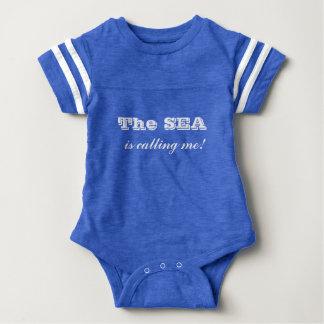 """Nautical"" - Baby Sport Bodysuit"