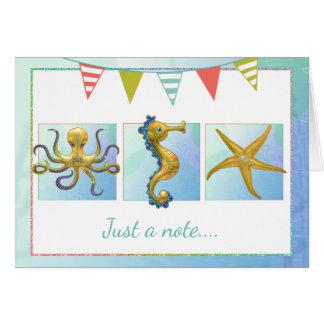Nautical Beach All Occasion Card