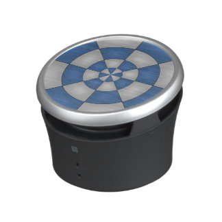 Nautical Blue Abstract Bluetooth Speaker