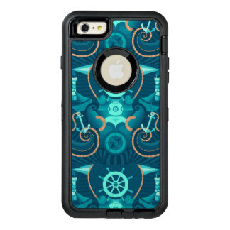 Nautical Blue Design OtterBox iPhone 6/6s Plus Case