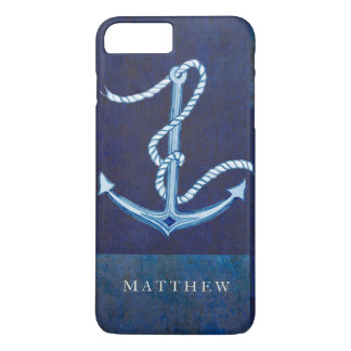 Nautical Boat Anchor, Sailing Ocean Sea Mens iPhone 7 Plus Case
