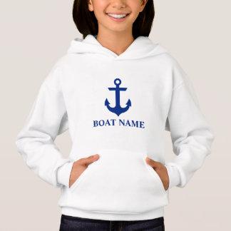 Nautical Boat Name Anchor Girls