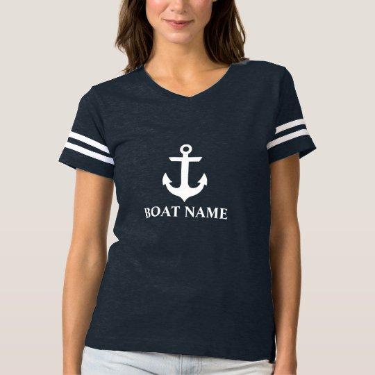 Nautical Boat Name Women's FB T-Shirt
