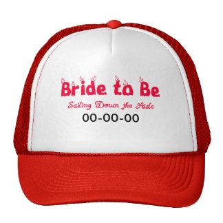 Nautical Bride-to-Be Trucker Hat