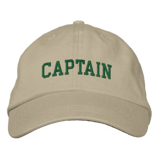 Nautical Captain Khaki Cap