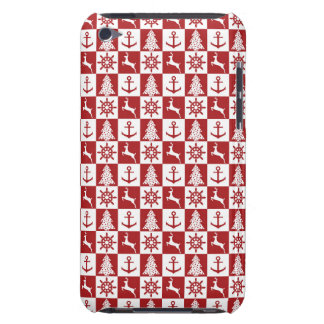 Nautical Christmas Barely There iPod Cover