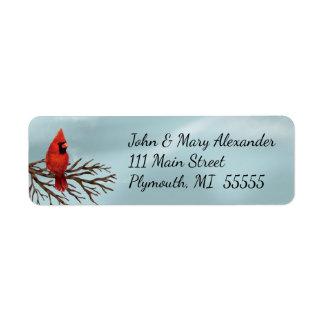Nautical Christmas Envelope Address Label