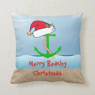 Nautical Christmas Pillow
