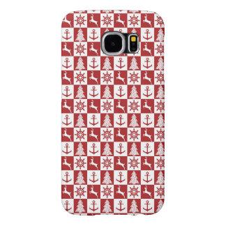 Nautical Christmas Samsung Galaxy S6 Cases