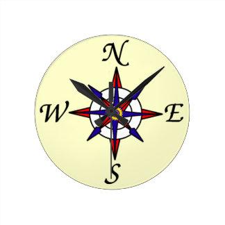 Nautical Compass Wallclock