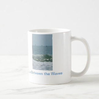 "Nautical cup ""Live Between the Waves"" Mugs"