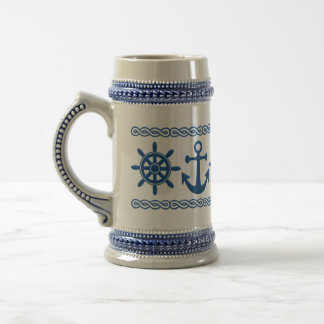 Nautical custom mug - choose style & color