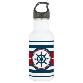 Nautical design 532 ml water bottle
