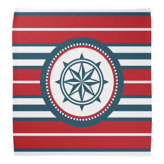 Nautical design bandana