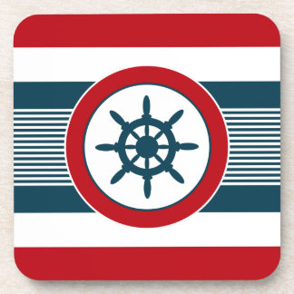 Nautical design coaster