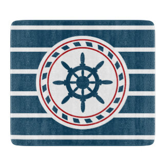 Nautical design cutting boards