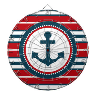Nautical design dartboard