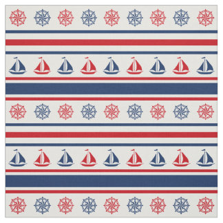 Nautical design fabric