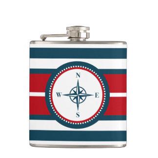 Nautical design flasks