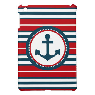 Nautical design iPad mini cover