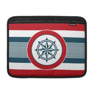Nautical design MacBook sleeve