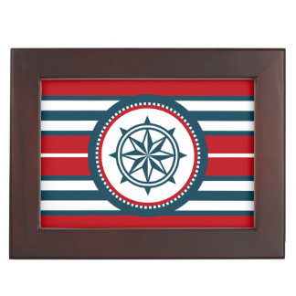 Nautical design memory boxes