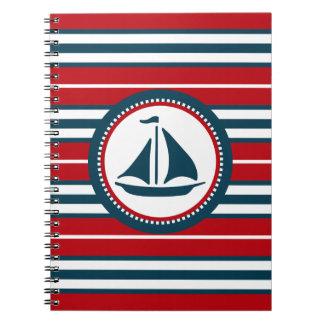 Nautical design notebook