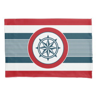 Nautical design pillowcase