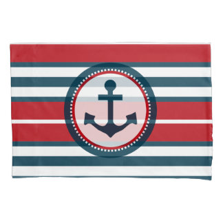 Nautical design pillowcase