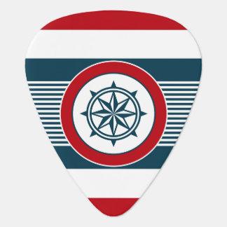 Nautical design plectrum