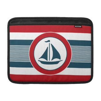 Nautical design sleeve for MacBook air