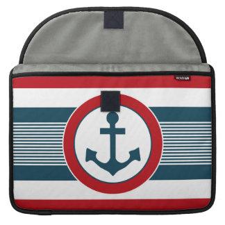 Nautical design sleeve for MacBooks