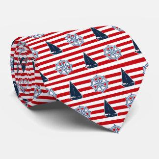 Nautical design tie