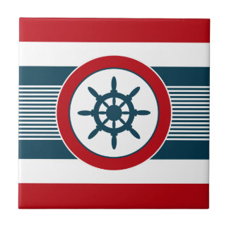 Nautical design tile