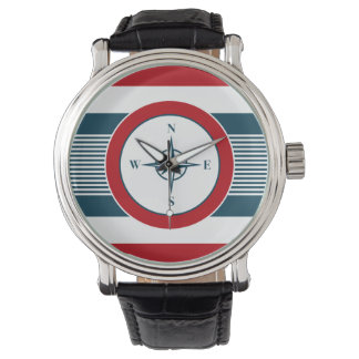 Nautical design watch