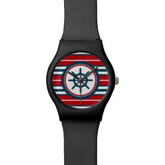 Nautical design wristwatches