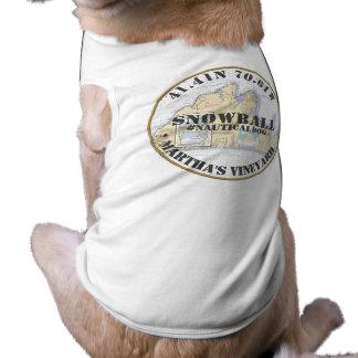 Nautical Dog Martha's Vineyard Massachusetts Shirt