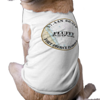 Nautical Dog Nautical Fort Pierce Florida Shirt