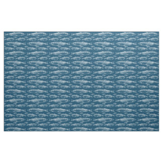 Nautical Fish Fabric