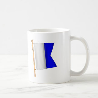 Nautical Flag 'A' Coffee Mug