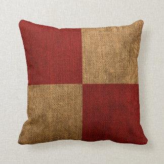 Nautical Flag Letter U Signal Cushion