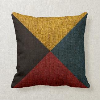 Nautical Flag Letter Z Signal Throw Cushion
