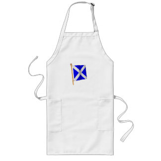 Nautical Flag 'M' Long Apron