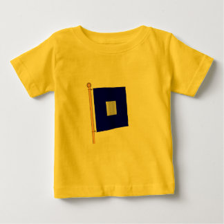 Nautical Flag 'P' Baby T-Shirt