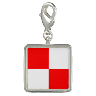 "Nautical Flag Sign Code Letter U ""Uniform"""