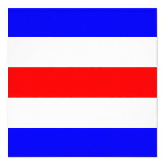 Nautical Flag Signal Charlie Letter C Card