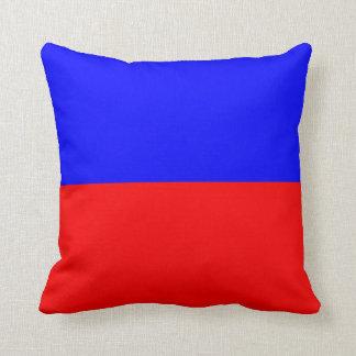 Nautical Flag Signal Letter E (Echo) Cushion
