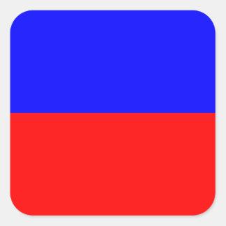 Nautical Flag Signal Letter E (Echo) Square Sticker